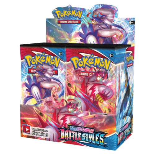 Ludibrium-Pokémon - Schwert und Schild - Battle Styles Booster - Deutsch