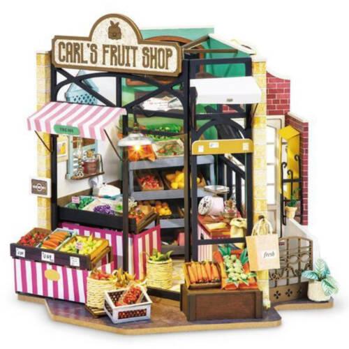 Ludibrium-Rolife - Happy Corner Carl's Fruit Shop - Holzmodell