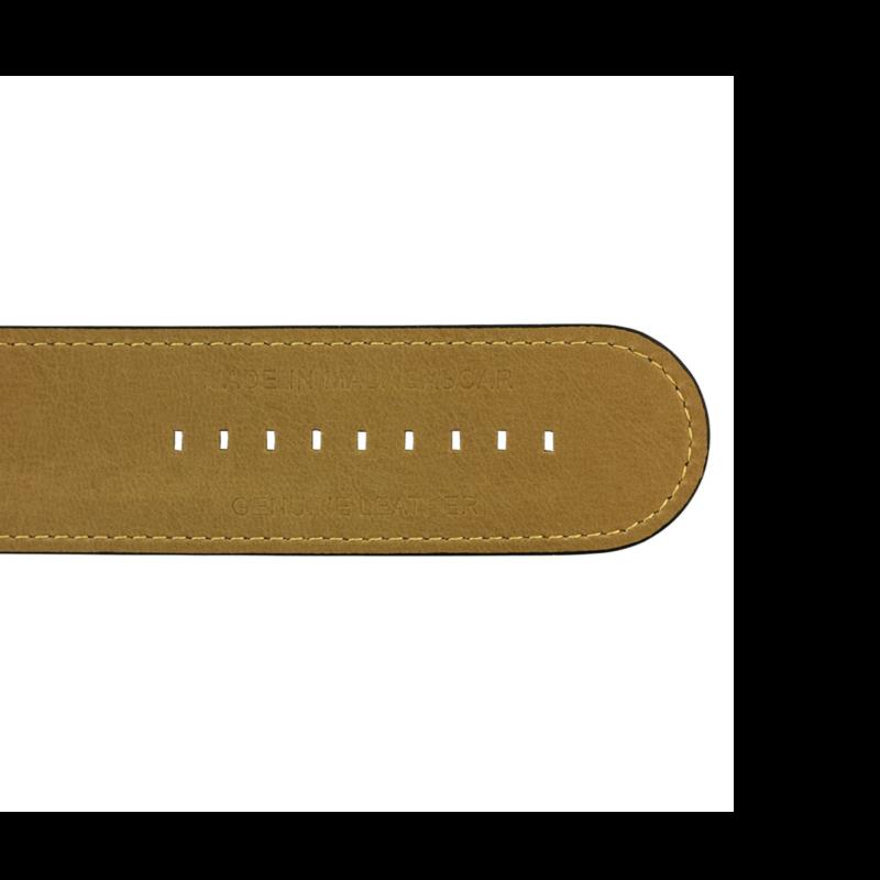 Ludibrium-S.T.A.M.P.S. - Armband Classic Leather Black
