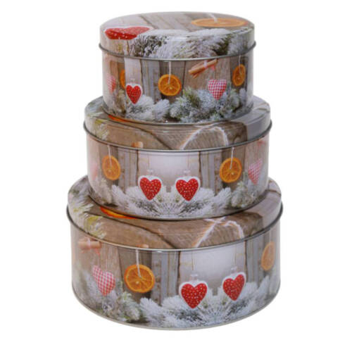 Blechdosen für Kekse und vieles mehr