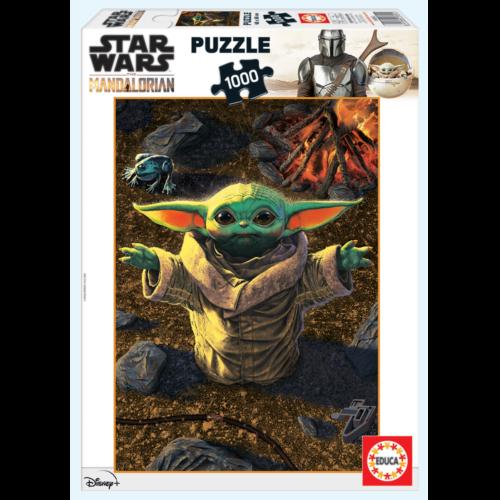 Ludibrium-Educa Puzzle - Baby Yoda the Mandalorian - 1000 Teile