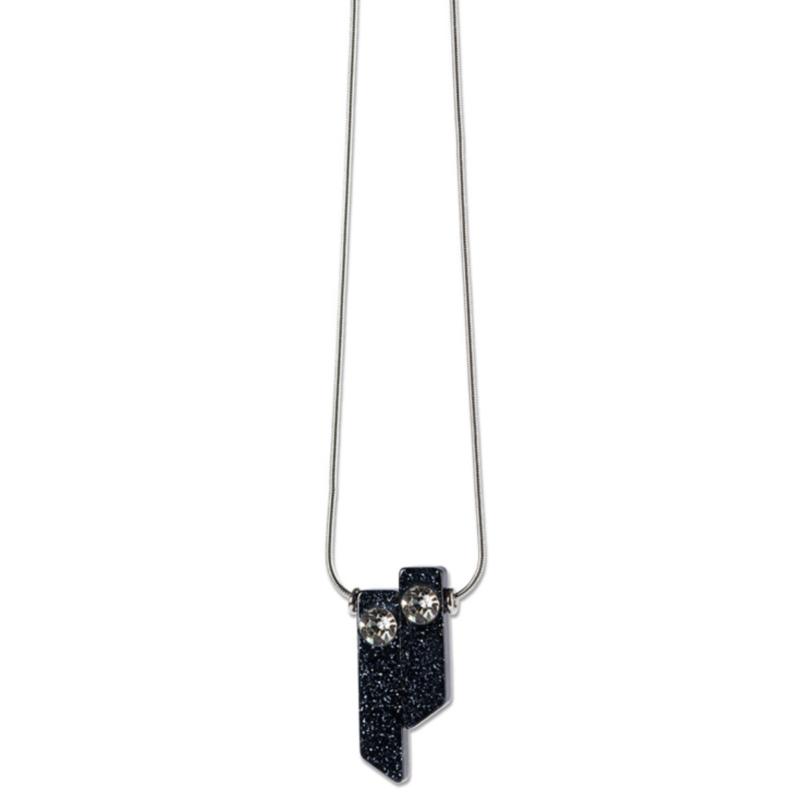 Ludibrium-S.T.A.M.P.S. - Necklace Twice Blue