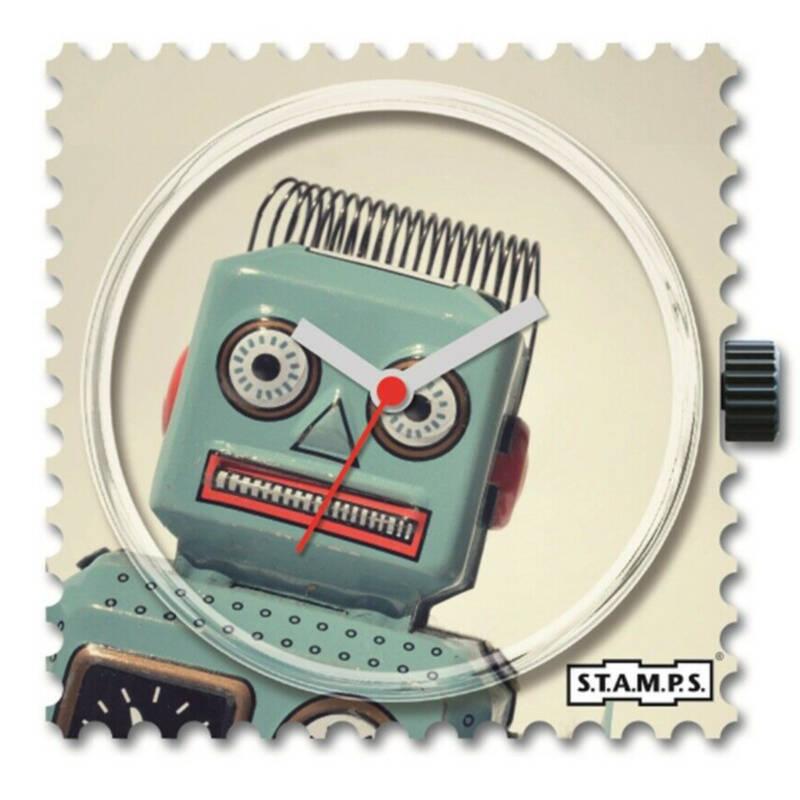 Ludibrium-S.T.A.M.P.S. - Uhrenmotiv Robot