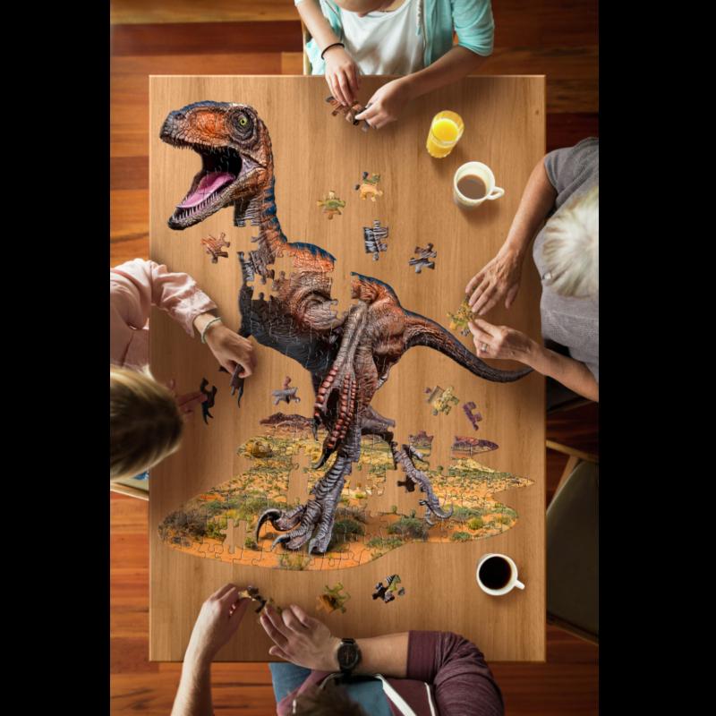 Ludibrium-Madd Capp Puzzle - Junior Velociraptor - 100 XL Teile