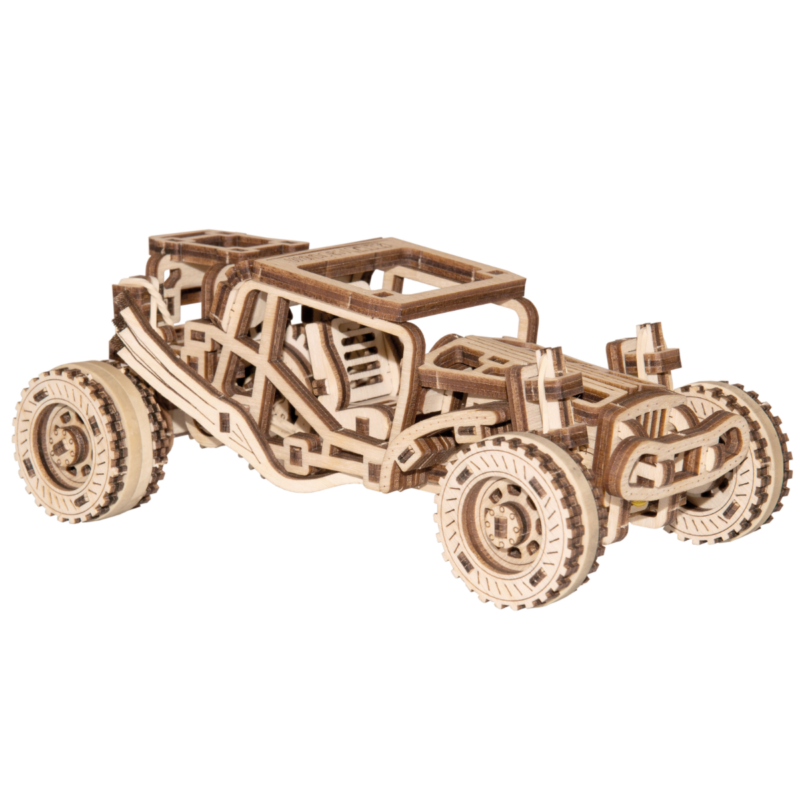 Ludibrium-Wooden.City - Buggy WR336 - Holzbausatz