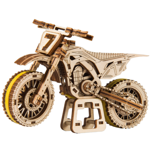 Ludibrium-Wooden.City - Motocross WR343 - Holzbausatz
