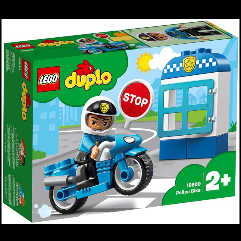 Ludibrium-LEGO Duplo 10900 - Polizeimotorrad - Klemmbausteine