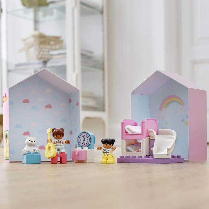 Ludibrium-LEGO Duplo 10926 - Kinderzimmer-Spielbox - Klemmbausteine