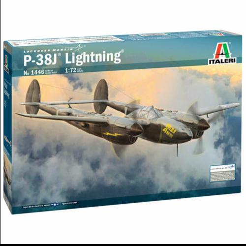 Ludibrium-Italeri 1446 - US P-38J Lightning 1:72