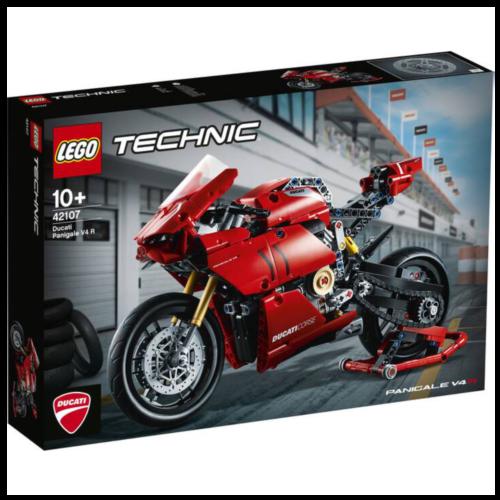 LKudibrium-LEGO Technic 42107 - Ducati Panigale V4 R - Klemmbausteine