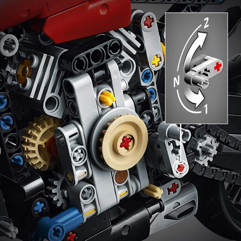 Ludibrium-LEGO Technic 42107 - Ducati Panigale V4 R - Klemmbausteine
