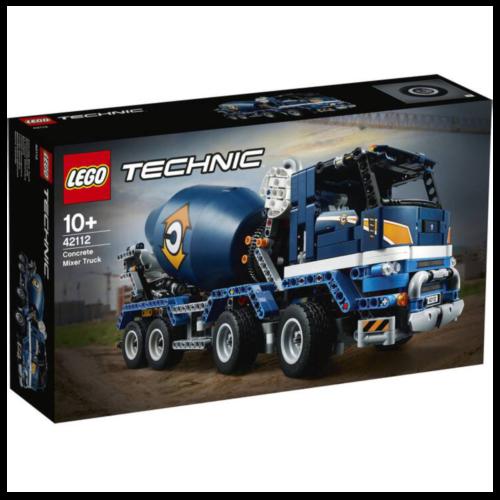Ludibrium-LEGO Technic 42112 - Betonmischer-LKW - Klemmbausteine