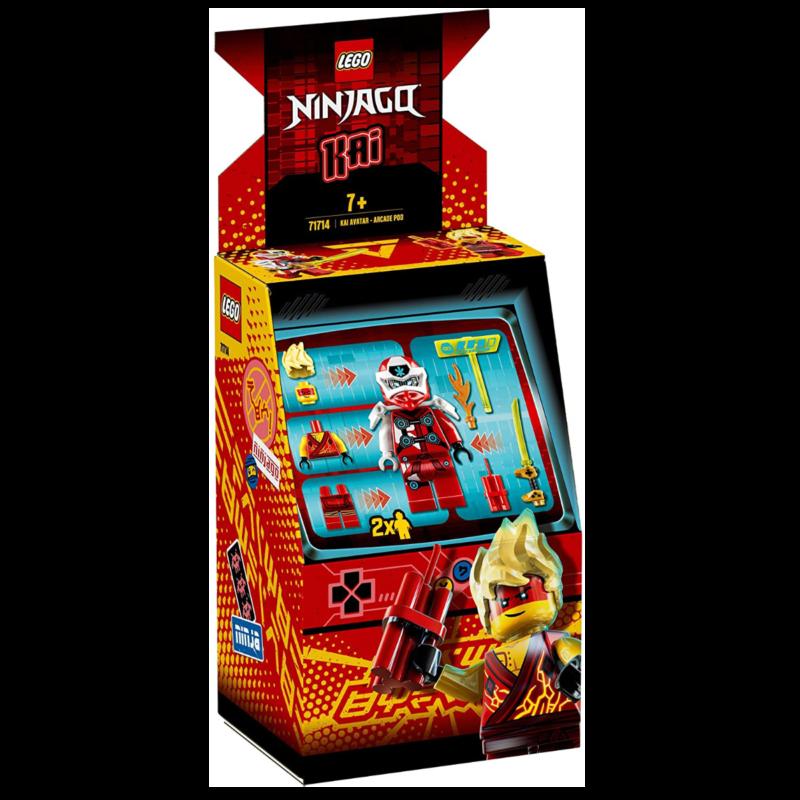 "Ludibrium-LEGO Ninjago 71714 - Avatar Kai ""Arcade Pod""- Klemmbausteine"