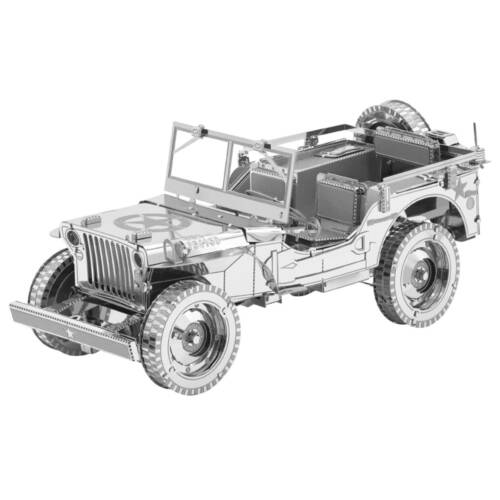 Ludibrium-Metal Earth - Iconx Willys Overland ICX139