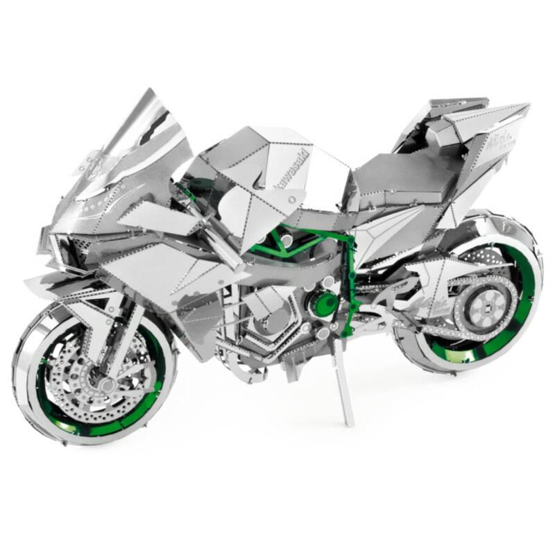 Ludibrium-Metal Earth - Iconx Kawasaki Ninja Green ICX021