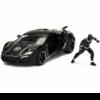 Ludibrium-Jada - Marvel Avengers Lycan Hypersport mit einer Black Panther Figur 1:24
