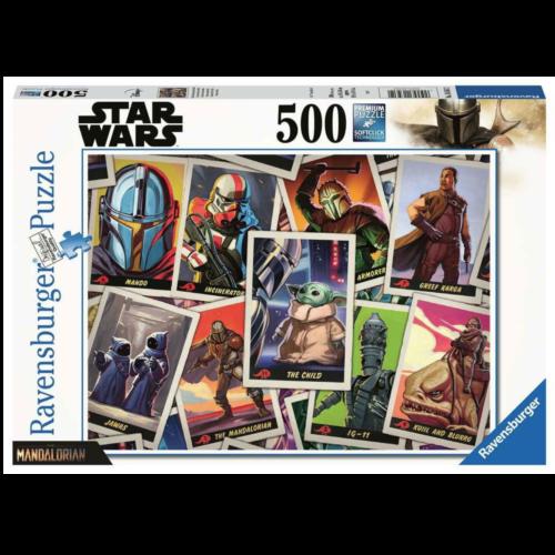 "Ludibrium-Ravensburger Puzzle - Star Wars The Mandalorian Puzzle ""the Child"" - 500 Teile"