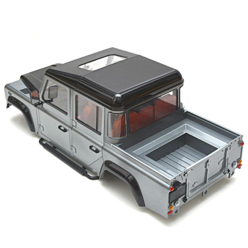 Ludibrium-Team Raffee 302215 - TRC Defender Pickup Truck 1/10 Hard Body D110 unlackiert