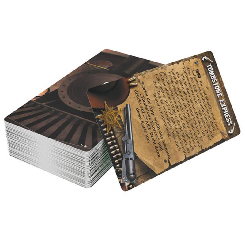 Ludibrium-Asmodee - Unlock! Tombstone Express (Einzelszenario) Box3 - deutsch