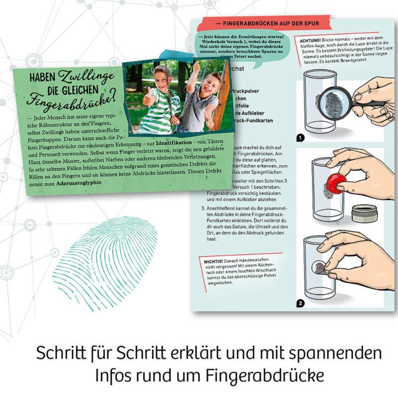 Ludibrium-Kosmos - Finger-Abdrücke - Spuren sichern