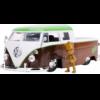 Ludibrium-Jada - Marvel 1963 Volkswagen VW Bus Truck mit einer Groot Figur 1:24