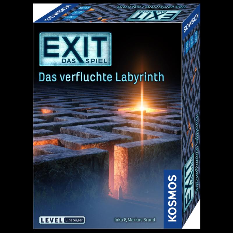 Ludibrium-Kosmos EXIT - Exit das Spiel - Das verfluchte Labyrinth
