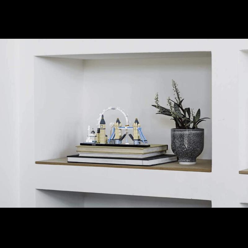 LUDIBRIUM-LEGO Architecture 21034 - London - Klemmbausteine
