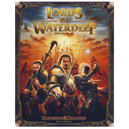 Ludibrium-Dungeons & Dragons - Brettspiel Lords of Waterdeep - Englisch