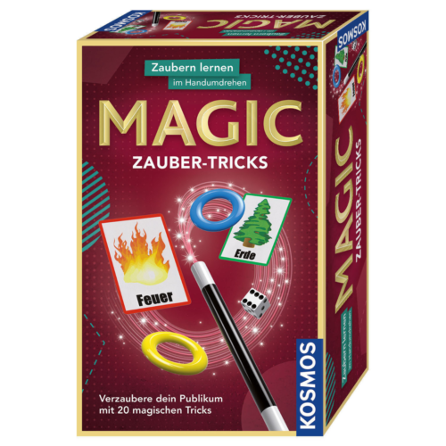 Ludibrium-Kosmos - Zauber-Tricks - Zaubern lernen im Handumdrehen