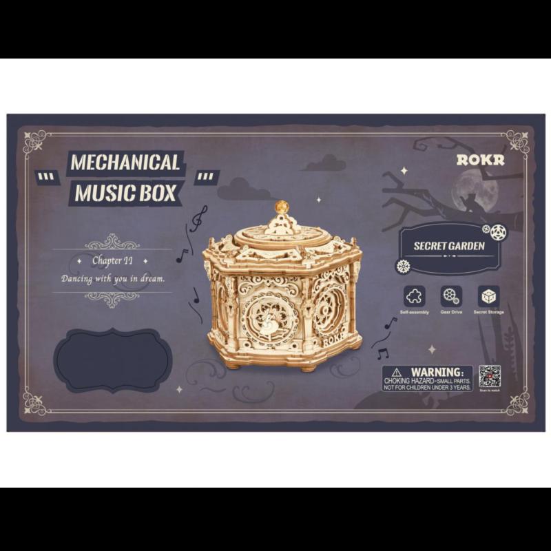 Ludibrium-ROKR - Mechanical Music Box Secret Garden
