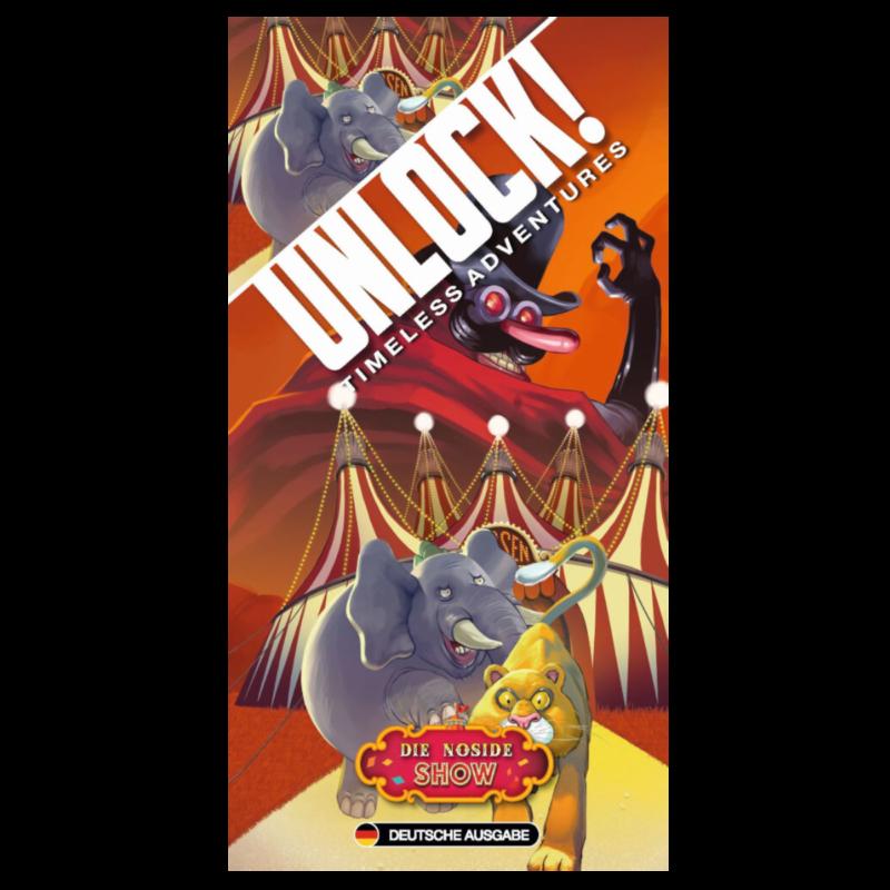Ludibrium-Asmodee - Unlock! Die Noside-Show (Einzelszenario) Box6A - deutsch