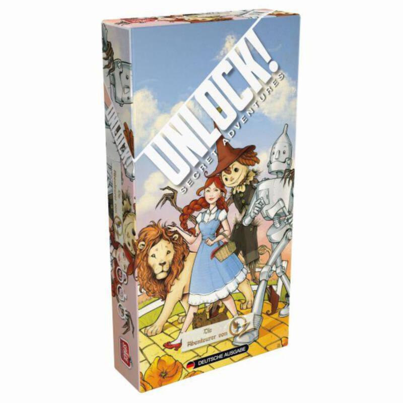 Ludibrium-Asmodee - Unlock! Die Abenteurer von Oz (Einzelszenario) Box3C - deutsch