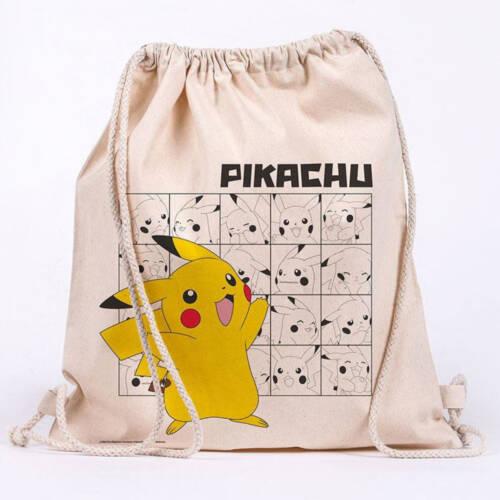Ludibrium-Pokémon - Stoffbeutel Pikachu