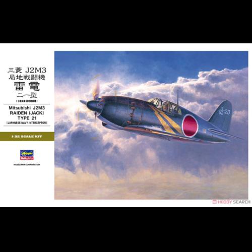 Ludibrium-Hasegawa 08882 - Mitsubishi J2M3 Raiden Jack Typ 21 - 1:32