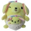Ludibrium-Squishmallows - Mama Rosa und Baby Golden Retriever 20 cm