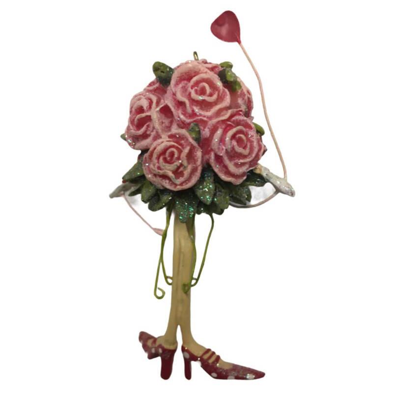 Ludibrium-Krinkles - Ornament mit Rosen - Rarität