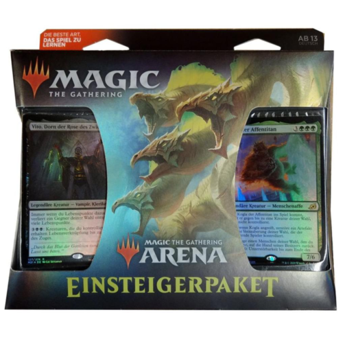 Ludibrium-Magic the Gathering - Magic Arena Starter Kit - Deutsch