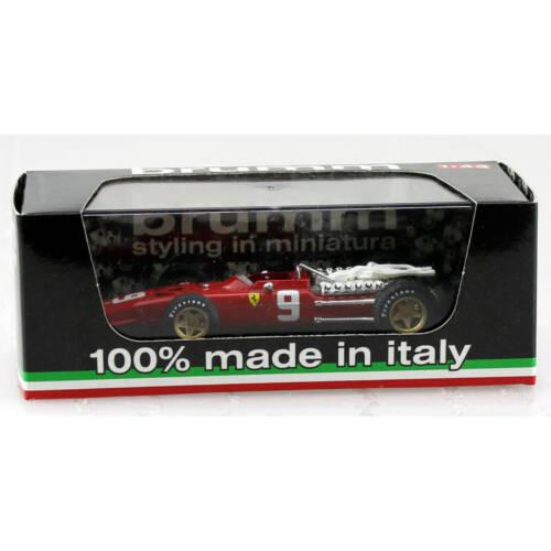 brumm -Ferrari 312 - Diecast Car - 1/43 - formula 1