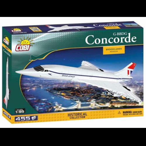 Ludibrium-Cobi 1917 - Concorde G-BBDG - Klemmbausteine