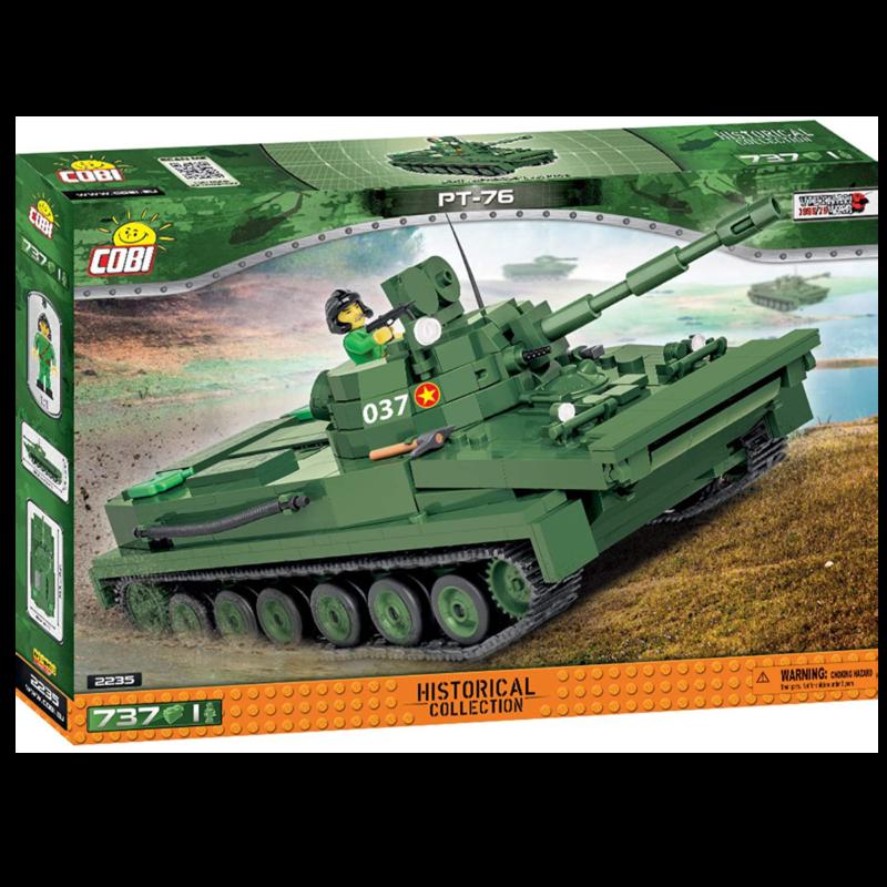 Ludibrium-Cobi 2235 - PT-76 Amphibious Tank - Klemmbausteine
