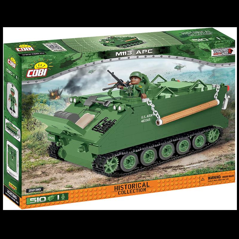 Ludibrium-Cobi 2236 - M113 Armored Carrier - Klemmbausteine