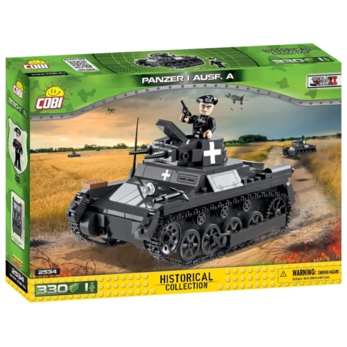 Ludibrium-Cobi 2534 - Panzerkampfwagen I - Klemmbausteine