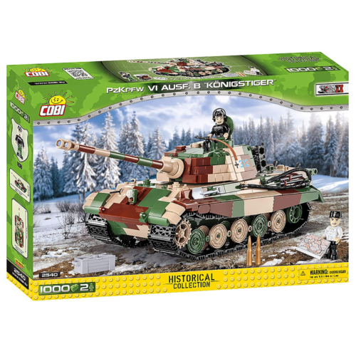 Ludibrium-Cobi 2540 - Panzerkampfwagen VI Königstiger - Klemmbausteine