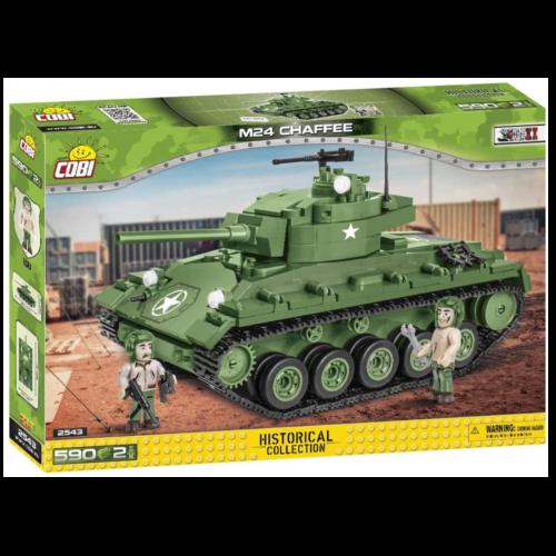 Ludibrium-Cobi 2543 - Panzer M24 Chaffee - Klemmbausteine