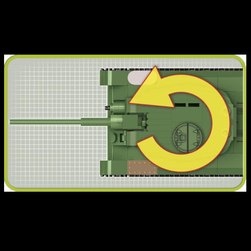 Ludibrium-Cobi 2702 - Panzer T-34-85 - Klemmbausteine