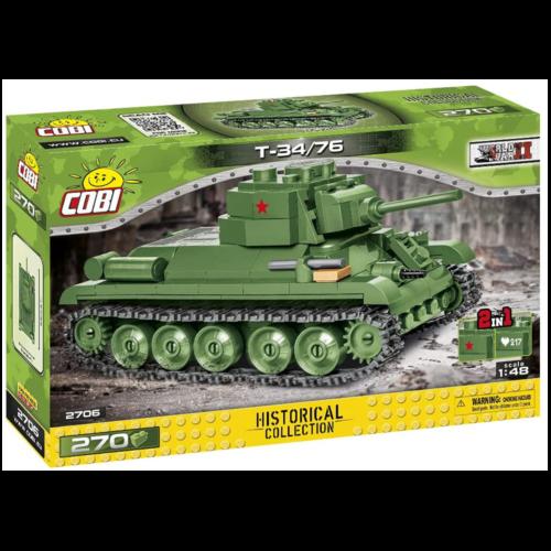 Ludibrium-Cobi 2706 - Panzer T-34/76 - Klemmbausteine