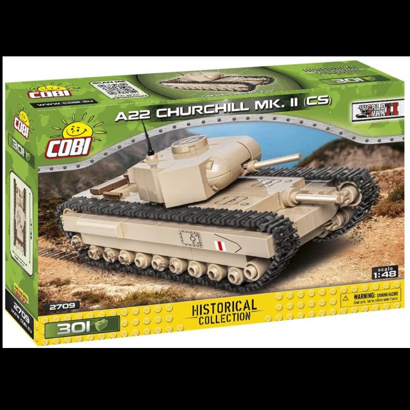 Ludibrium-Cobi 2709 - PanzerA22 Churchill MK. II - Klemmbausteine