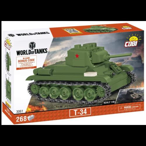 Ludibrium-Cobi 3061 - Panzer WoT T-34 - Klemmbausteine