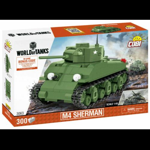Ludibrium-Cobi 3063 - Panzer WoT M4 Sherman - Klemmbausteine