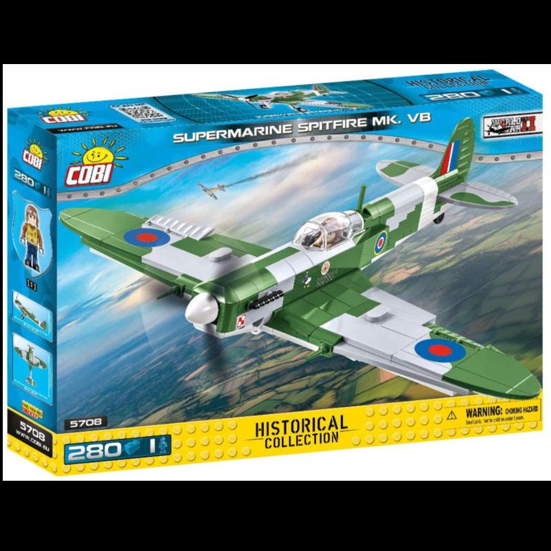 Ludibrium-Cobi 5708 - Supermarine Spitfire Mk - Klemmbausteine